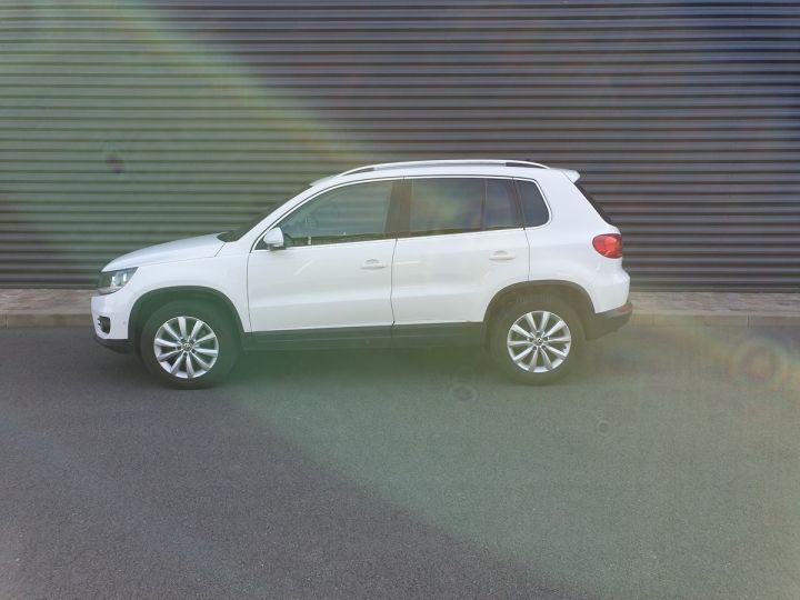 Volkswagen Tiguan ii 2.0 tdi 140 sortline 4motioni Blanc Occasion - 4