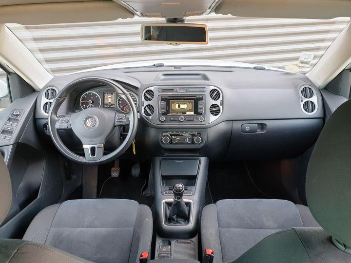 Volkswagen Tiguan ii 2.0 tdi 140 sortline 4motioni Blanc Occasion - 5