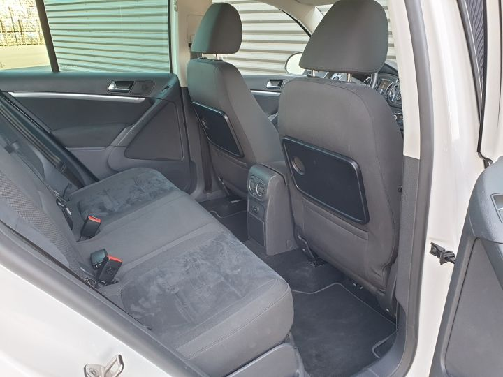 Volkswagen Tiguan ii 2.0 tdi 140 sortline 4motioni Blanc Occasion - 6