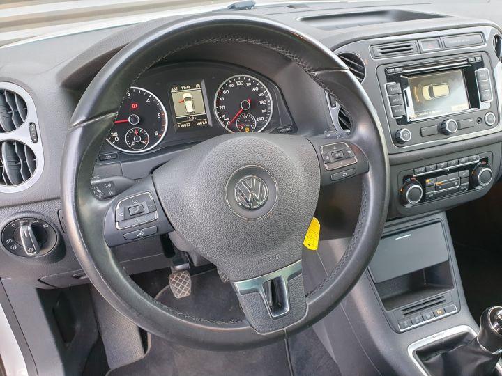Volkswagen Tiguan ii 2.0 tdi 140 sortline 4motioni Blanc Occasion - 9