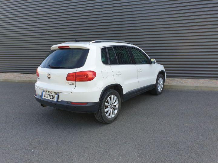 Volkswagen Tiguan ii 2.0 tdi 140 sortline 4motioni Blanc Occasion - 18