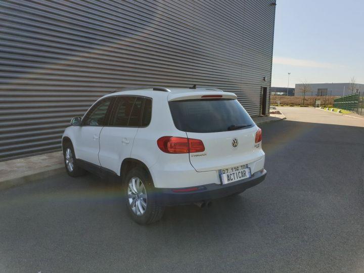 Volkswagen Tiguan ii 2.0 tdi 140 sortline 4motioni Blanc Occasion - 19