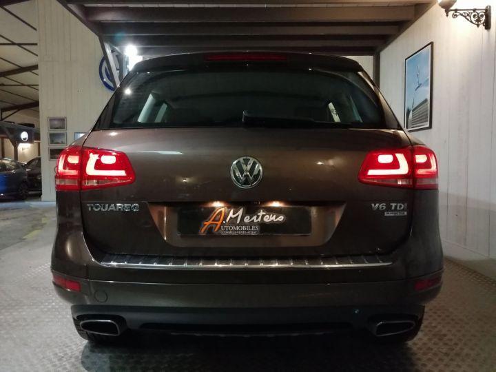 Volkswagen Touareg 3.0 TDI 245 CV DSG Marron - 4
