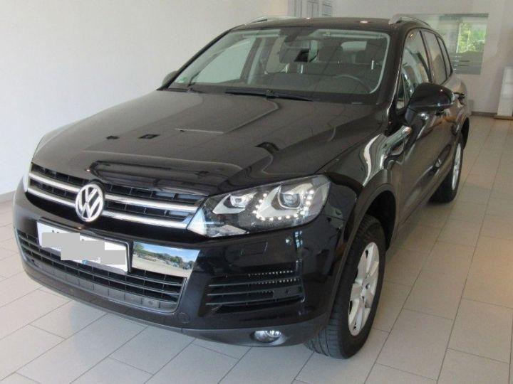 Volkswagen Touareg 3.0 V6 TDI 245 (12/2013) noir métallisé effet perle - 1