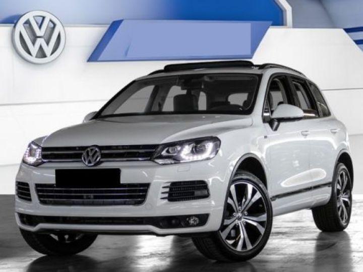 Volkswagen Touareg 3.0 V6 TDI 245CH BLUEMOTION EDITION R LINE 4MOTION TIPTRONIC BLANC Occasion - 1