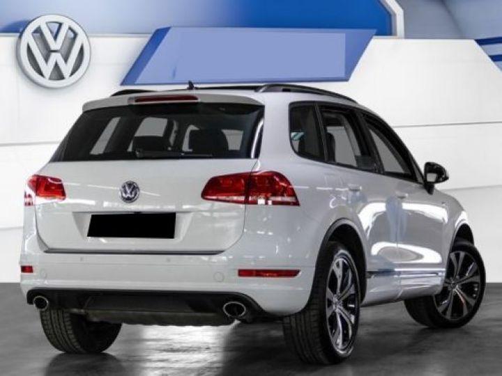 Volkswagen Touareg 3.0 V6 TDI 245CH BLUEMOTION EDITION R LINE 4MOTION TIPTRONIC BLANC Occasion - 2