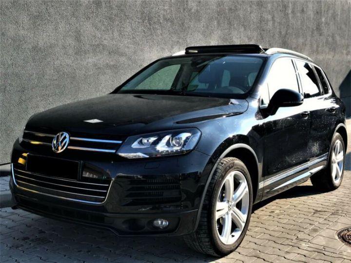 Volkswagen Touareg 3.0 V6 TDI 245CH BLUEMOTION FAP R EXCLUSIVE 4MOTION TIPTRONIC NOIR Occasion - 1