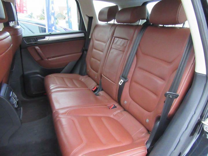 Volkswagen Touareg 3.0 V6 TDI 262CH BLUEMOTION TECHNOLOGY CARAT 4MOTION TIPTRONIC Noir - 9