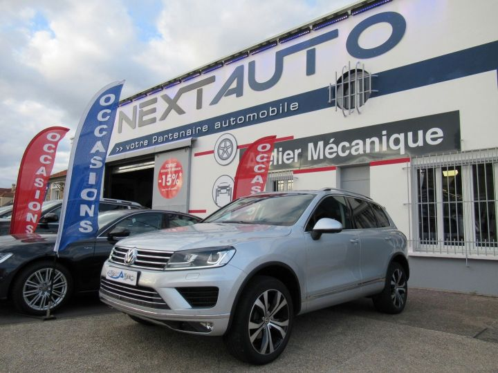 Volkswagen Touareg 3.0 V6 TDI 262CH BLUEMOTION TECHNOLOGY CARAT 4MOTION TIPTRONIC Gris Clair - 1