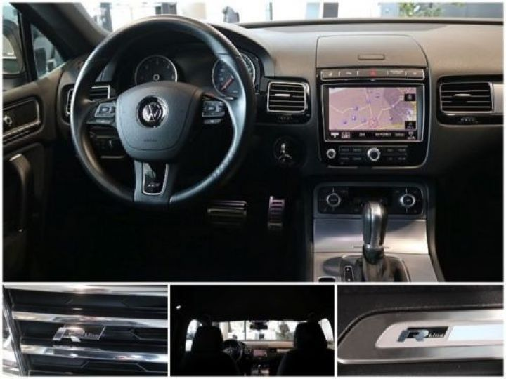 Volkswagen Touareg 3.0 V6 TDI 262CH BLUEMOTION TECHNOLOGY CARAT 4XMOTION TIPTRONIC NOIR Occasion - 6