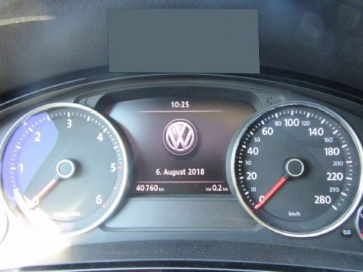 Volkswagen Touareg 3.0 V6 TDI 262CH BLUEMOTION TECHNOLOGY CARAT EDITION 4MOTION TIPTRONIC BLEU Occasion - 6
