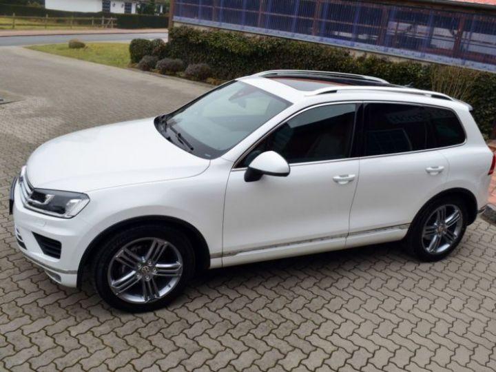 Volkswagen Touareg 3.0 V6 TDI 262CH BLUEMOTION TECHNOLOGY CARAT EDITION 4XMOTION TIPTRONIC BLANC Occasion - 5