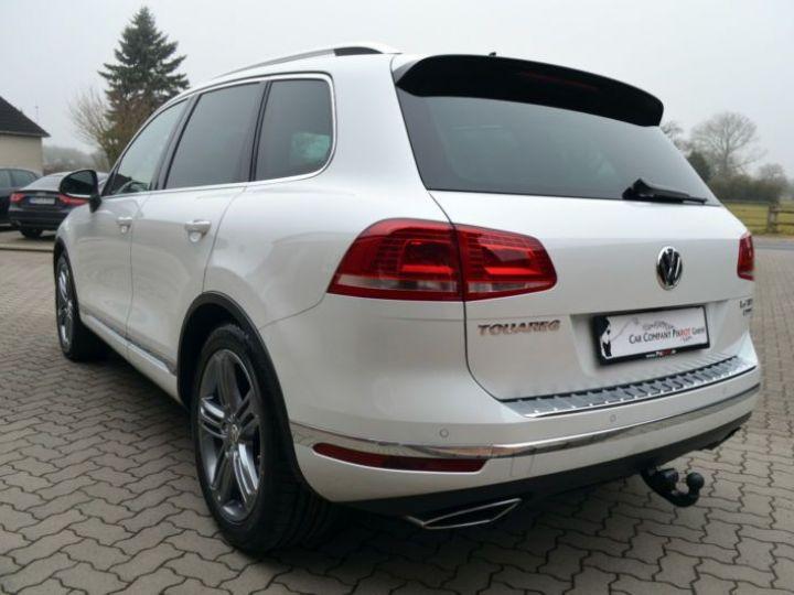 Volkswagen Touareg 3.0 V6 TDI 262CH BLUEMOTION TECHNOLOGY CARAT EDITION 4XMOTION TIPTRONIC BLANC Occasion - 8