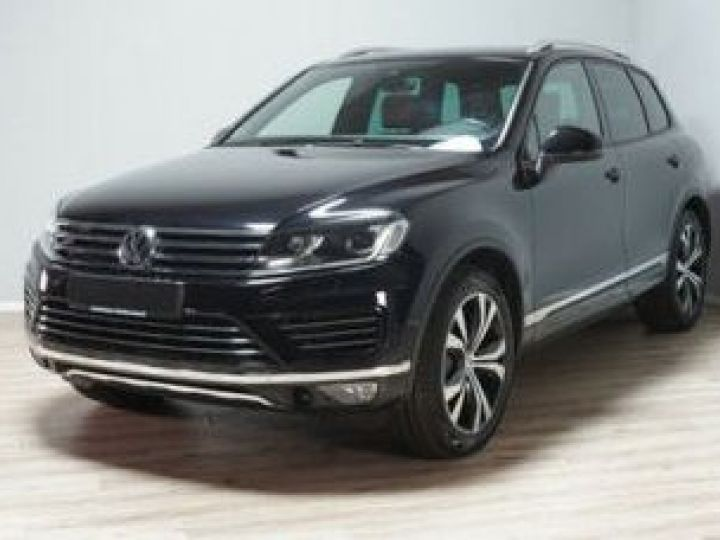 Volkswagen Touareg 3.0 V6 TDI 262CH BLUEMOTION TECHNOLOGY CARAT EXCLUSIVE 4MOTION TIPTRONIC NOIR Occasion - 2