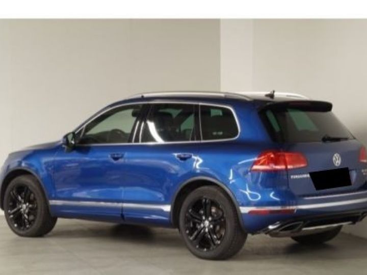 Volkswagen Touareg 3.0 V6 TDI 262CH BLUEMOTION TECHNOLOGY R-LINE 4MOTION TIPTRONIC BLEU Occasion - 3