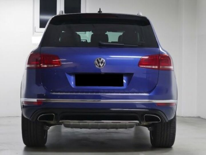 Volkswagen Touareg 3.0 V6 TDI 262CH BLUEMOTION TECHNOLOGY R-LINE 4MOTION TIPTRONIC BLEU Occasion - 4