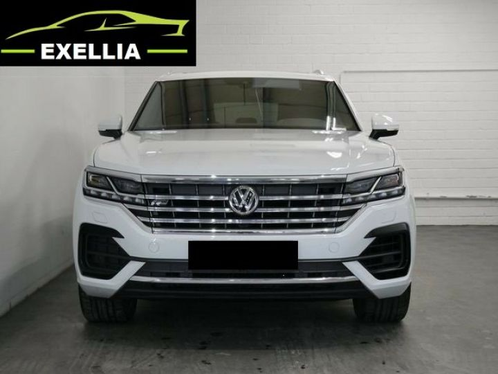 Volkswagen Touareg 3.0 V6 TDI 286 4MOTION R LINE EXCLUSIVE AUTO BLANC  Occasion - 1