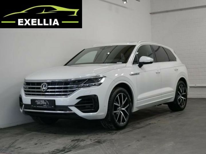 Volkswagen Touareg 3.0 V6 TDI 286 4MOTION R LINE EXCLUSIVE AUTO BLANC  Occasion - 2