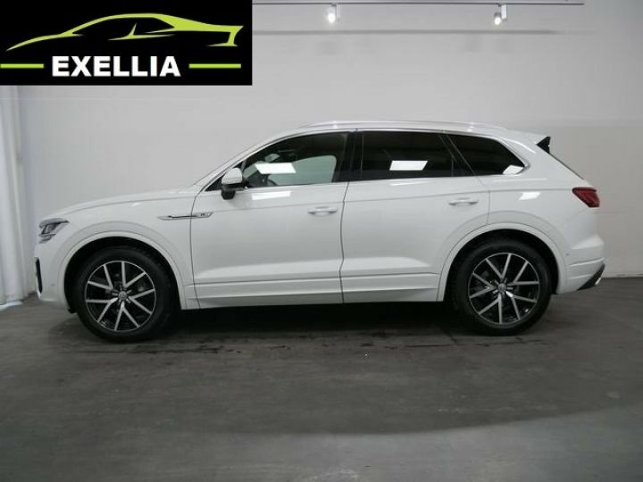 Volkswagen Touareg 3.0 V6 TDI 286 4MOTION R LINE EXCLUSIVE AUTO BLANC  Occasion - 3