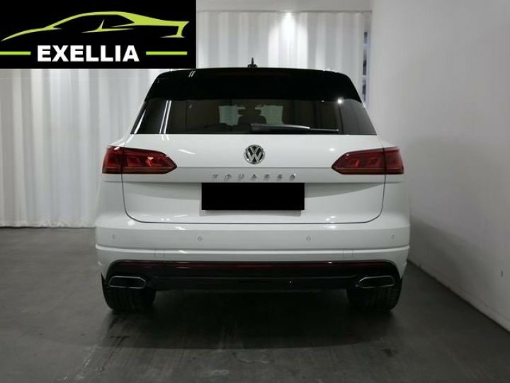 Volkswagen Touareg 3.0 V6 TDI 286 4MOTION R LINE EXCLUSIVE AUTO BLANC  Occasion - 4