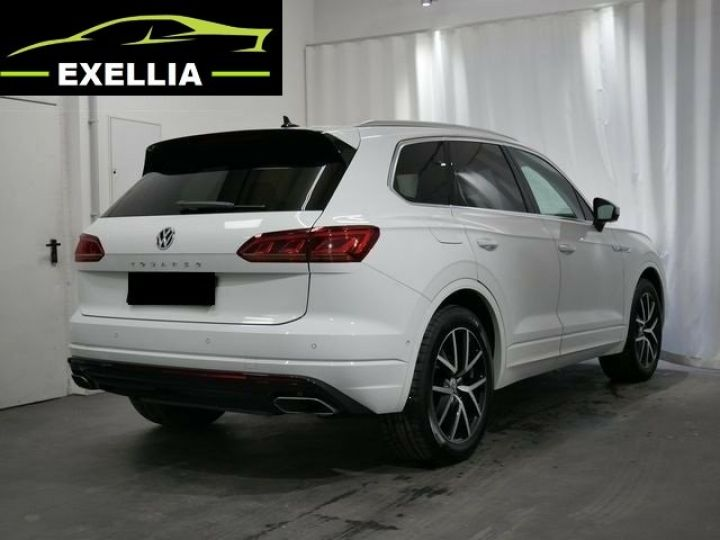 Volkswagen Touareg 3.0 V6 TDI 286 4MOTION R LINE EXCLUSIVE AUTO BLANC  Occasion - 5