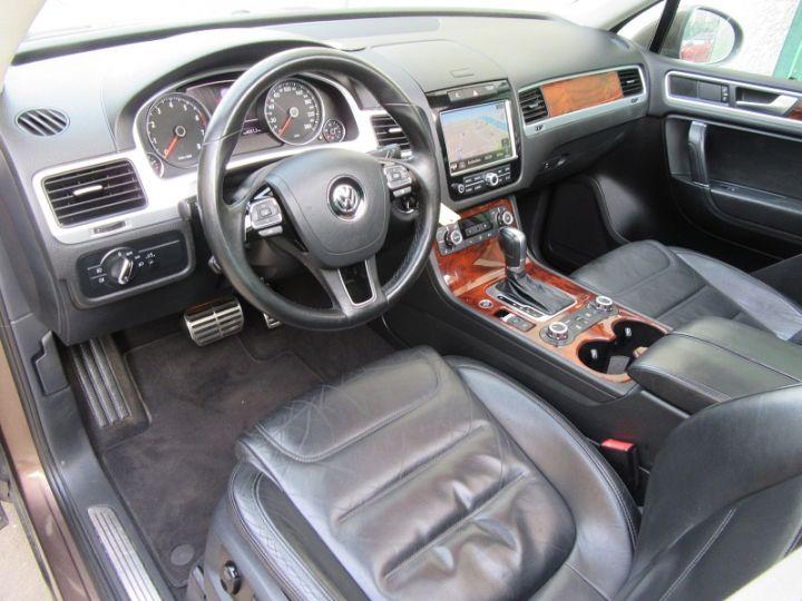 Volkswagen Touareg 3.0 V6 TFSI 380CH CARAT EDITION 4MOTION TIPTRONIC MARRON Occasion - 4