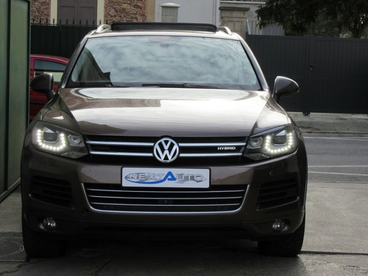 Volkswagen Touareg 3.0 V6 TFSI 380CH CARAT EDITION 4MOTION TIPTRONIC MARRON Occasion - 6