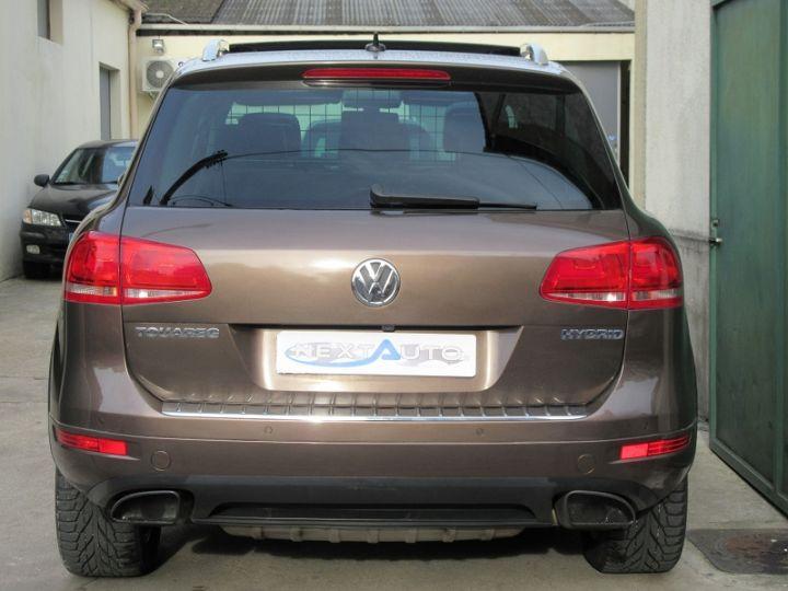 Volkswagen Touareg 3.0 V6 TFSI 380CH CARAT EDITION 4MOTION TIPTRONIC MARRON Occasion - 8