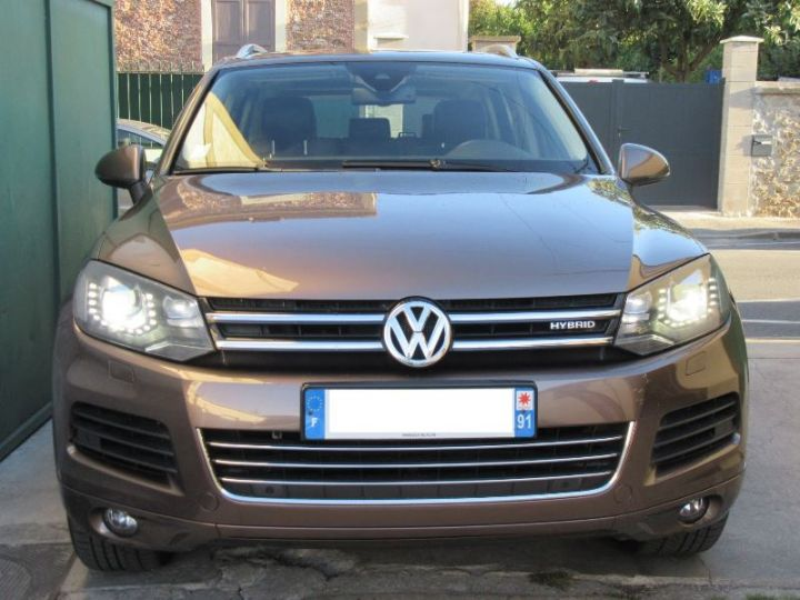 Volkswagen Touareg 3.0 V6 TFSI 380CH HYBRID CARAT EDITION 4MOTION TIPTRONIC MARRON Occasion - 6