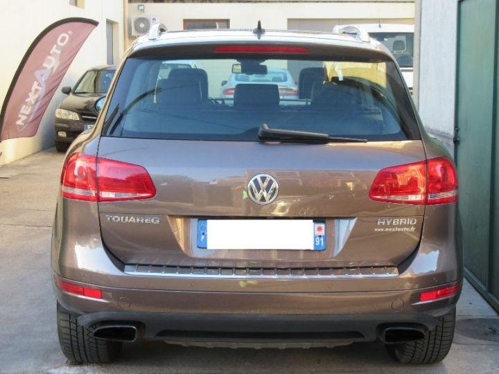 Volkswagen Touareg 3.0 V6 TFSI 380CH HYBRID CARAT EDITION 4MOTION TIPTRONIC MARRON Occasion - 7
