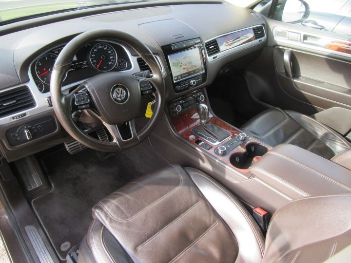 Volkswagen Touareg 4.2 V8 TDI 340CH FAP CARAT EDITION 4MOTION TIPTRONIC Marron - 2