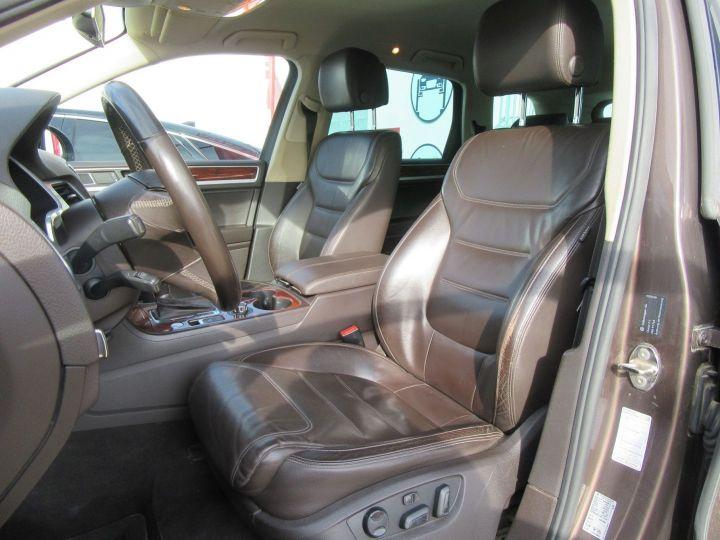 Volkswagen Touareg 4.2 V8 TDI 340CH FAP CARAT EDITION 4MOTION TIPTRONIC Marron - 4