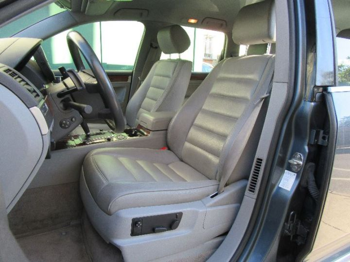 Volkswagen Touareg 5.0 V10 TDI 313CH TIPTRONIC GRIS FONCE Occasion - 4