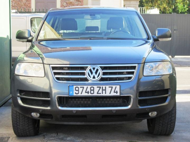 Volkswagen Touareg 5.0 V10 TDI 313CH TIPTRONIC GRIS FONCE Occasion - 11