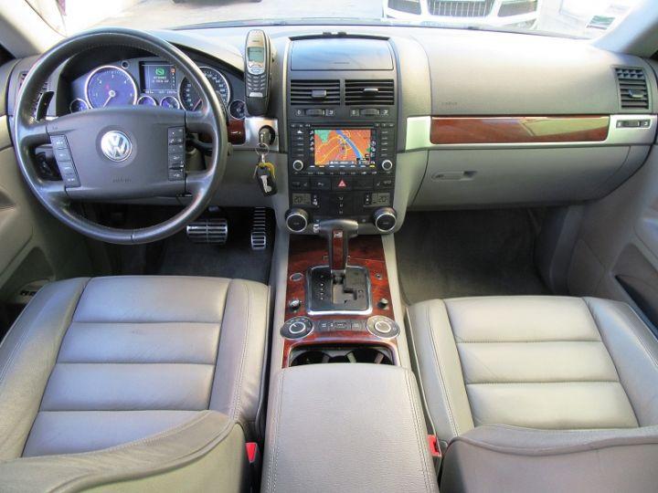 Volkswagen Touareg 5.0 V10 TDI 313CH TIPTRONIC GRIS FONCE Occasion - 10