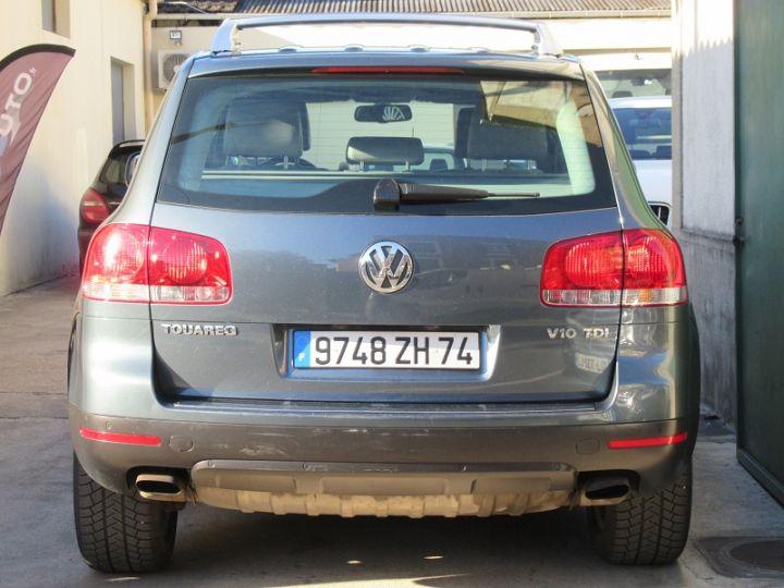 Volkswagen Touareg 5.0 V10 TDI 313CH TIPTRONIC GRIS FONCE Occasion - 12