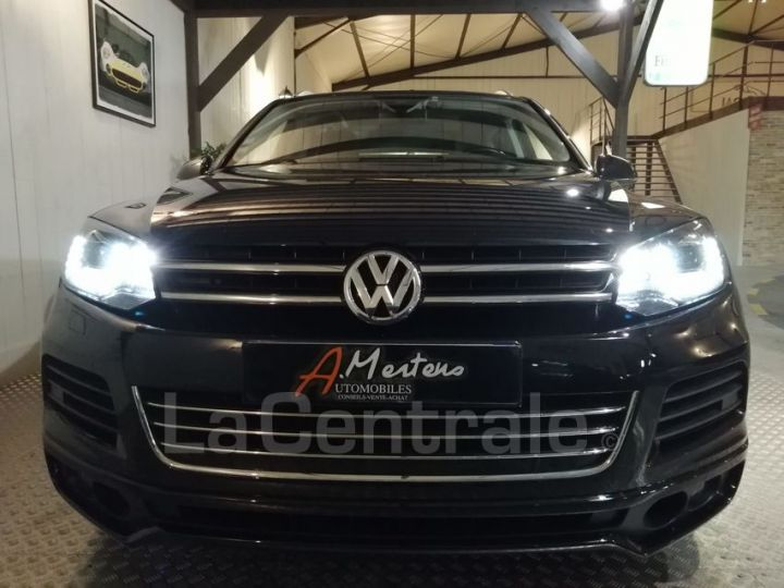 Volkswagen Touareg II 3.0 V6 TDI 245 FAP BLUEMOTION TECHNOLOGY R-LINE EDITION TIPTRONIC noir metal - 3