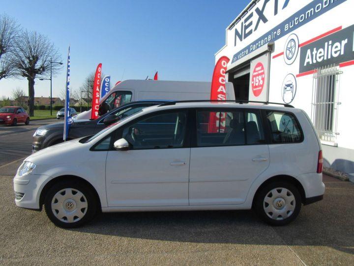 Volkswagen Touran 1.4 TSI 140CH CONFORTLINE DSG7 Blanc - 5