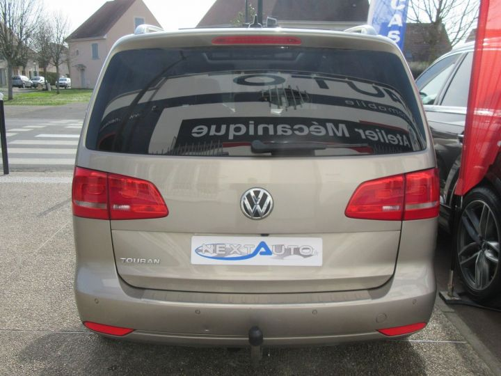 Volkswagen Touran 1.6 TDI 105CH BLUEMOTION FAP MATCH DSG7 Gris Sable - 7