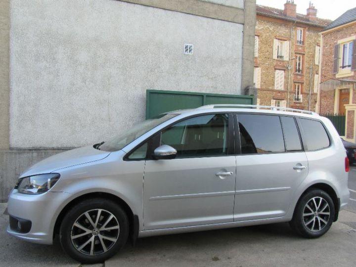 Volkswagen Touran 1.6 TDI 105CH BLUEMOTION TECHNOLOGY FAP CONFORTLINE BUSINESS GRIS CLAIR Occasion - 5
