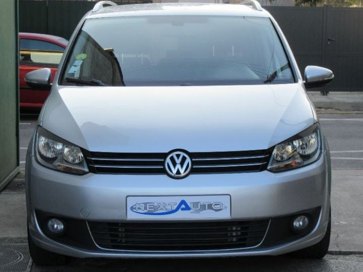 Volkswagen Touran 1.6 TDI 105CH BLUEMOTION TECHNOLOGY FAP CONFORTLINE BUSINESS GRIS CLAIR Occasion - 6