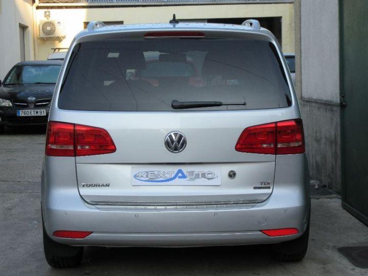 Volkswagen Touran 1.6 TDI 105CH BLUEMOTION TECHNOLOGY FAP CONFORTLINE BUSINESS GRIS CLAIR Occasion - 7