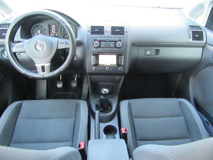 Volkswagen Touran 1.6 TDI 105CH BLUEMOTION TECHNOLOGY FAP CONFORTLINE BUSINESS GRIS CLAIR Occasion - 8