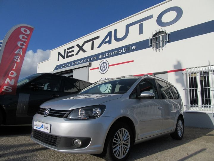 Volkswagen Touran 1.6 TDI 105CH BLUEMOTION TECHNOLOGY FAP CUP GRIS CLAIR Occasion - 1
