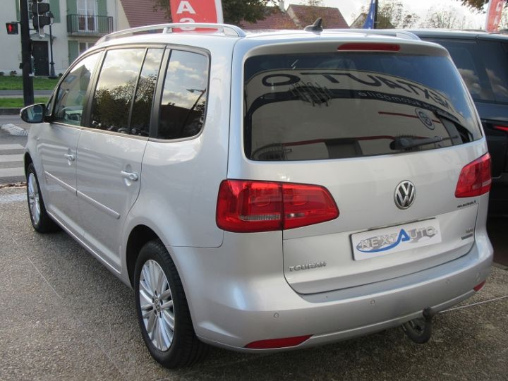 Volkswagen Touran 1.6 TDI 105CH BLUEMOTION TECHNOLOGY FAP CUP GRIS CLAIR Occasion - 3