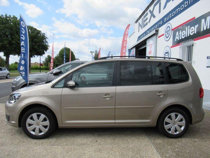 Volkswagen Touran 1.6 TDI 105CH FAP CONFORTLINE Beige Metallise - 5