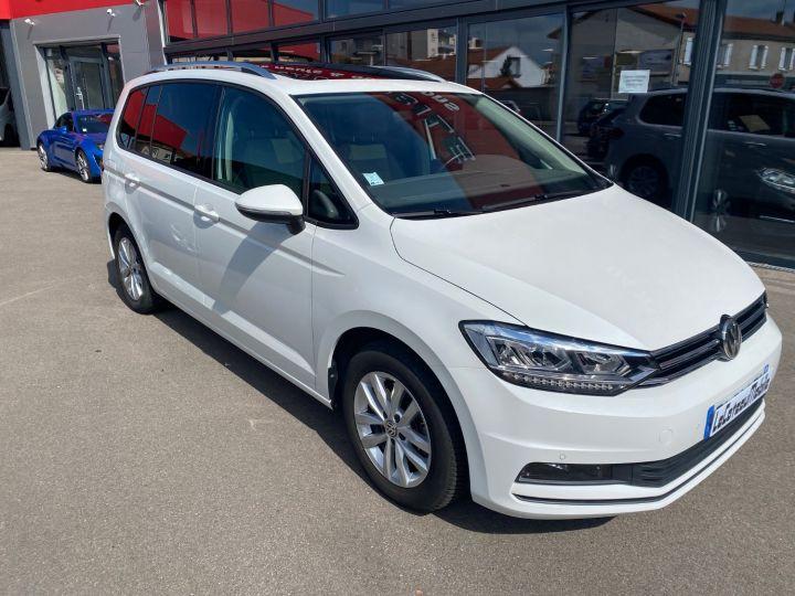 Volkswagen Touran 1.6 TDI 115cv confortline business  pack led blanc nacre - 2
