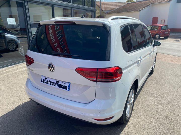 Volkswagen Touran 1.6 TDI 115cv confortline business  pack led blanc nacre - 6