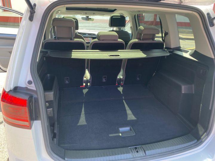 Volkswagen Touran 1.6 TDI 115cv confortline business  pack led blanc nacre - 7