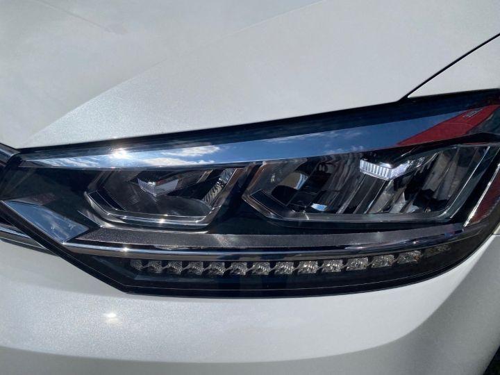 Volkswagen Touran 1.6 TDI 115cv confortline business  pack led blanc nacre - 10